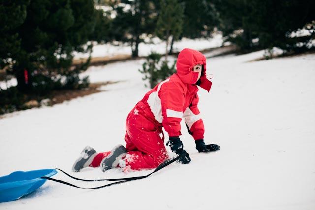 kid sleigh