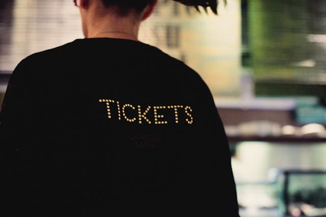 tickets bar