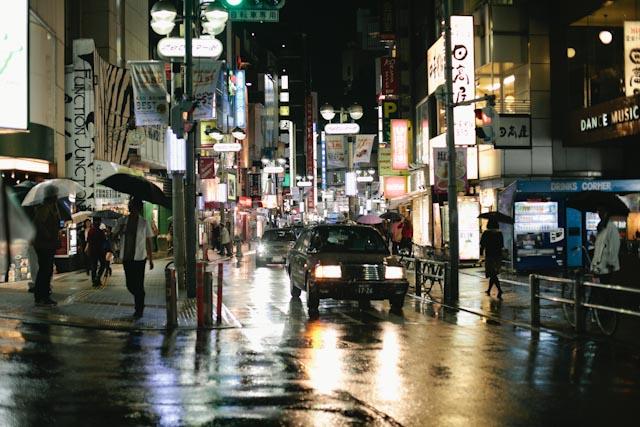 Japan Shibuya street