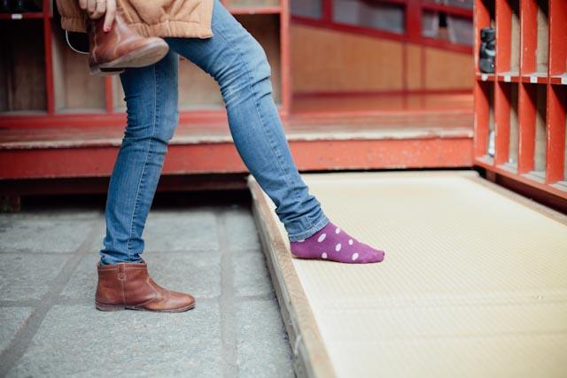 Nikko temples barefoot