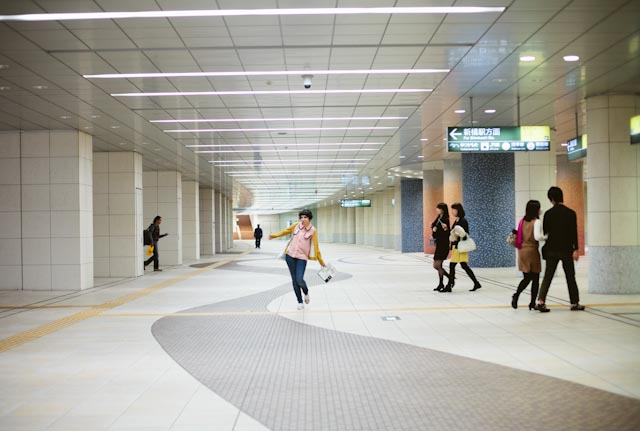 Japan Ginza tunnels