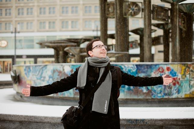 Dani at Alexanderplatz