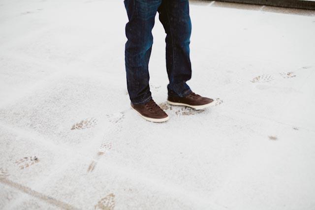 Snow at Alexanderplatz 2