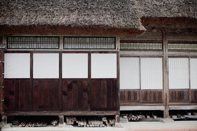Ainokura house detail