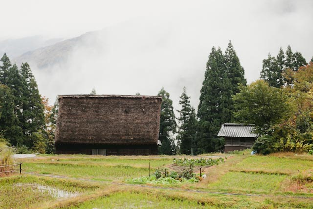 Ainokura primitive house