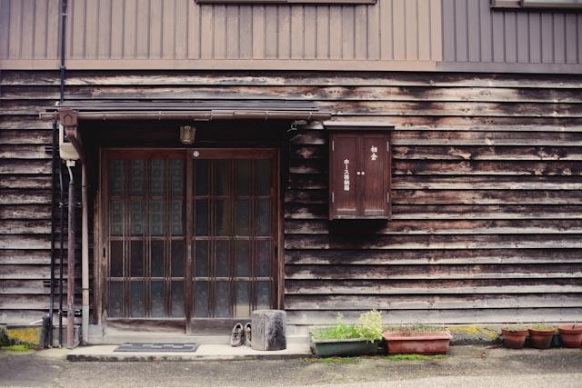 Ainokura house