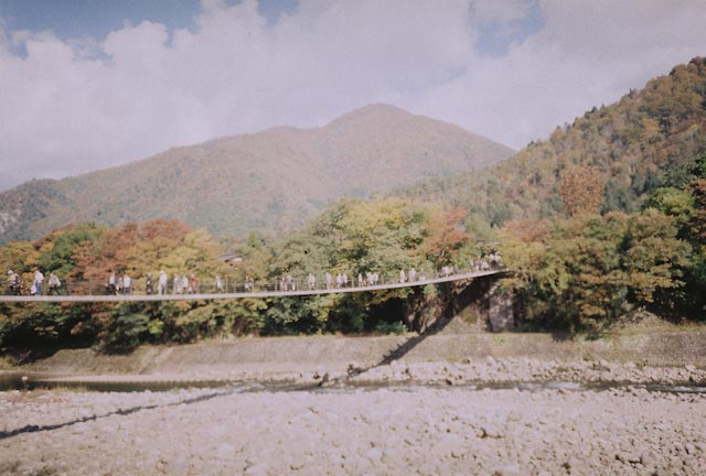 Shirakawago bridge