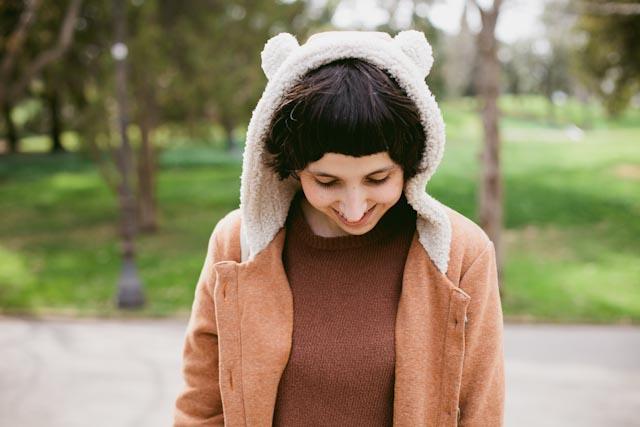 Damaris bear hat