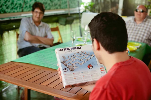 Star wars board game - the cat you and us