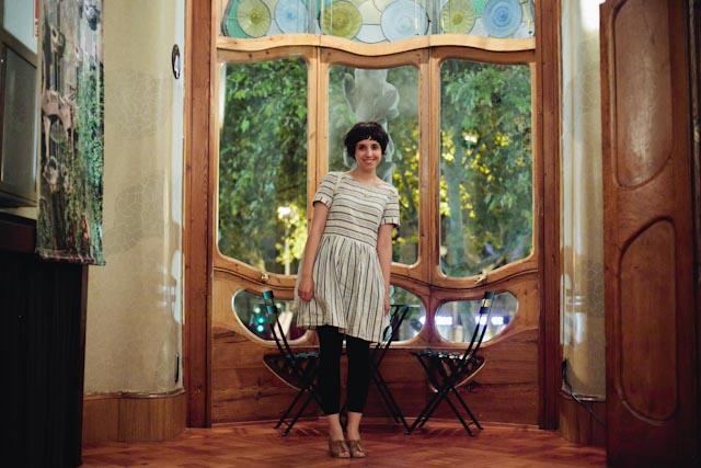 Casa Batllo balcony - the cat you and us