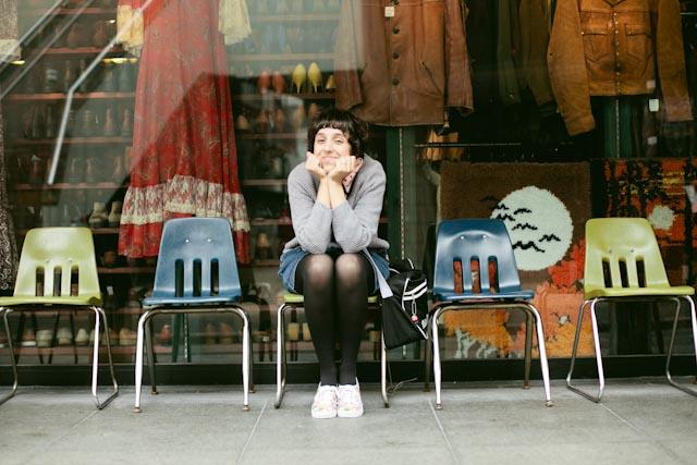 Vintage shops at shimokitazawa - The cat, you and us