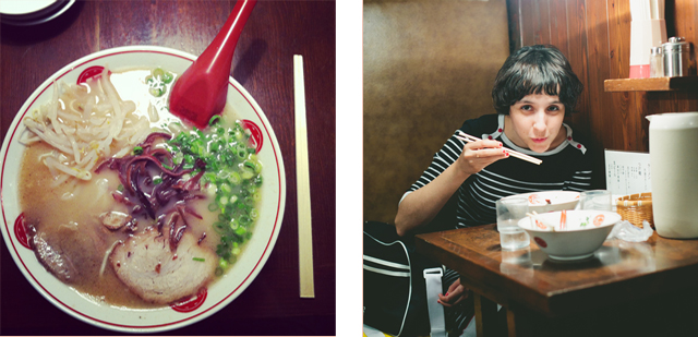 Ramen at Tokyo - The cat, you and us