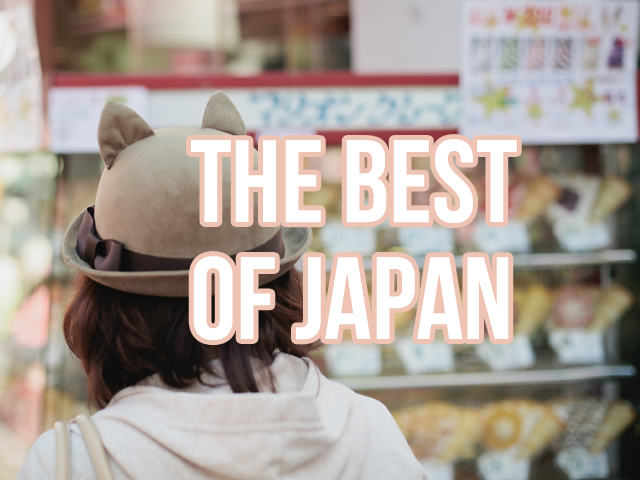 The best of Japan - the cat, you and us
