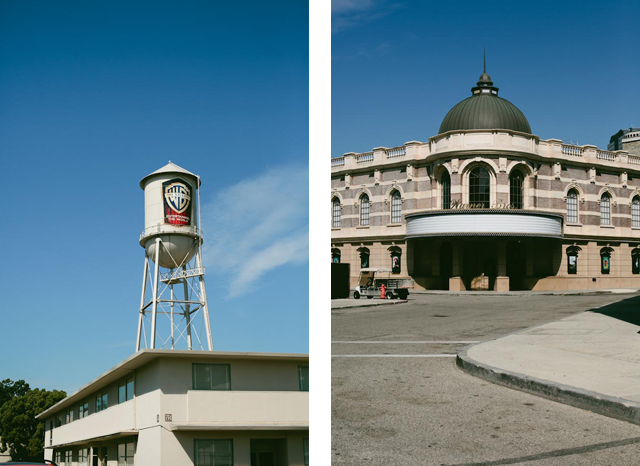 Warner Bros studios - the cat you and us