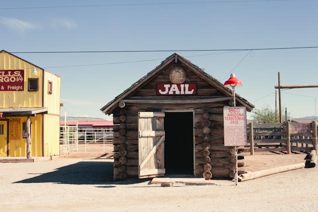 Seligman jail - The cat, you and us