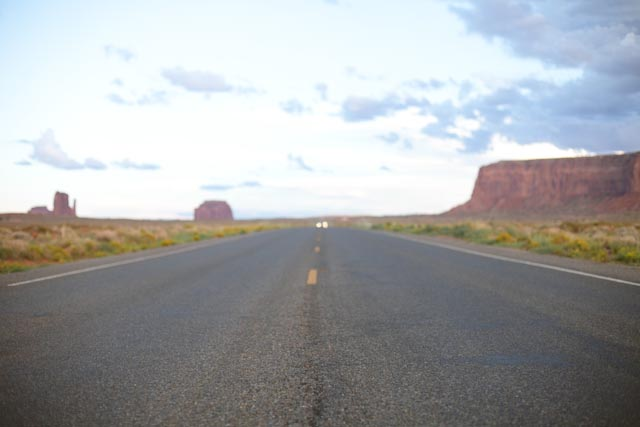 Road to Monument Valley - The cat, you and us