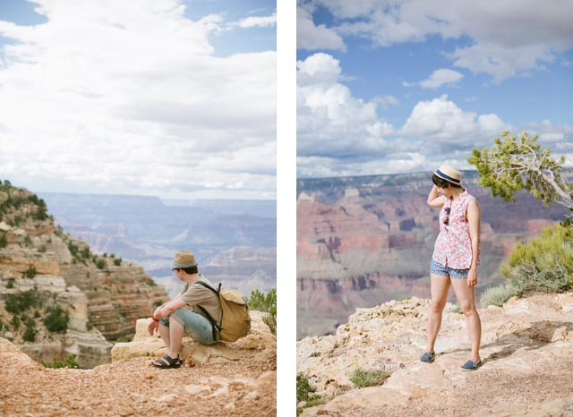 Dani & Damaris Grand Canyon - The cat, you and us
