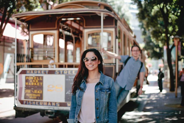 SF cable car - The cat, you and us