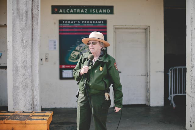 Alcatraz ranger - The cat, you and us