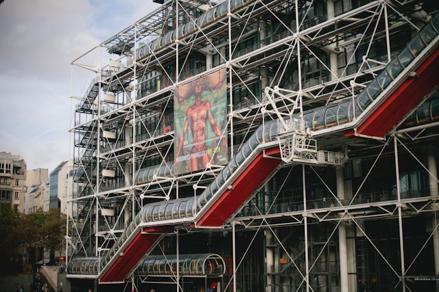 Centre Pompidou - The cat, you and us