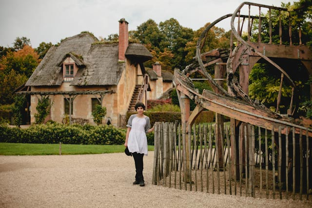 Le hameau de la reine - The cat, you and us