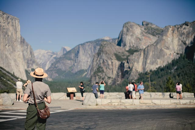Tunnel view at yosemite - The cat, you and us