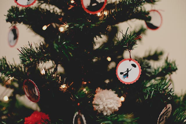 Christmas decorations - The cat, you and us