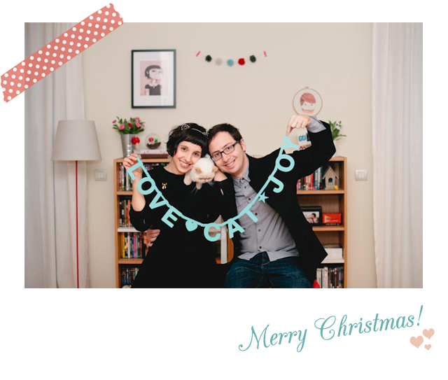 Merry Christmas - The cat, you and us
