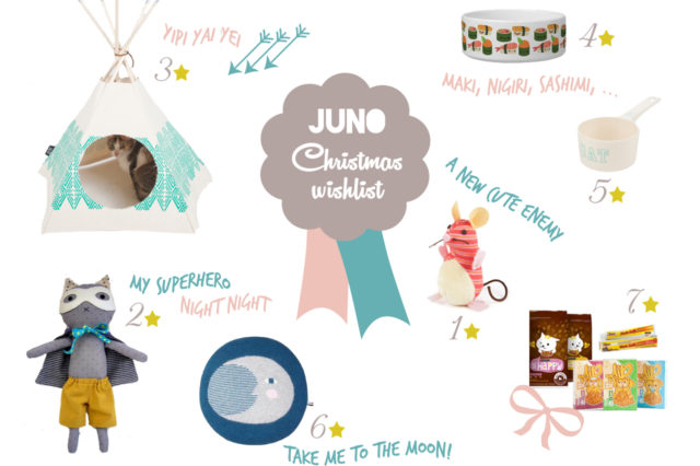 Juno Christmas wishlist - The cat, you and us