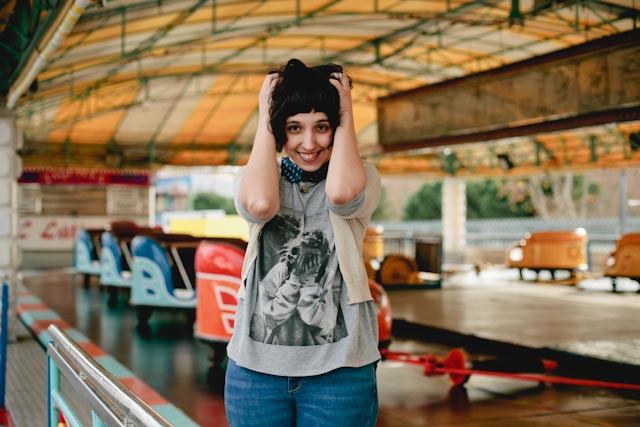 Crazy about funfairs - The cat, you and us