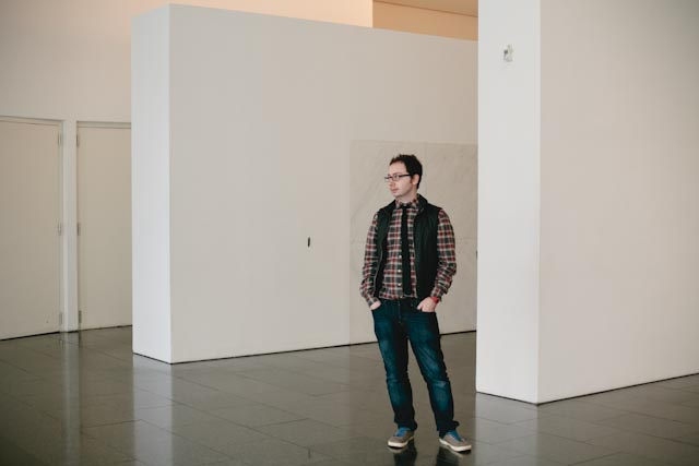 Cute guy at Macba's hall - The cat, you an dus