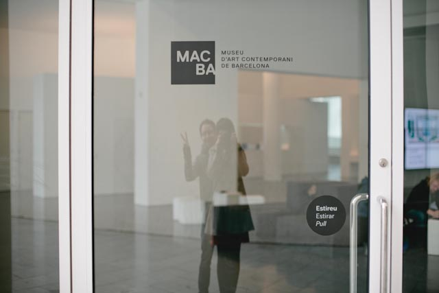 Macba reflection - The cat, you and us