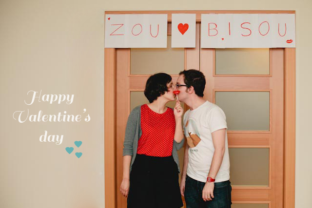 Happy Valentine's day - The cat, you and us