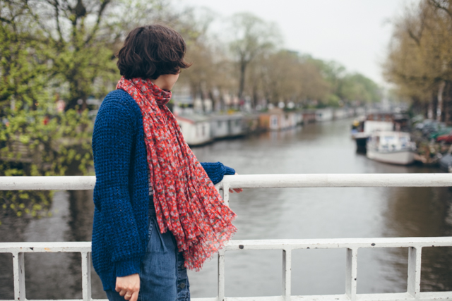 Canals of Amsterdam - The cat, you and us