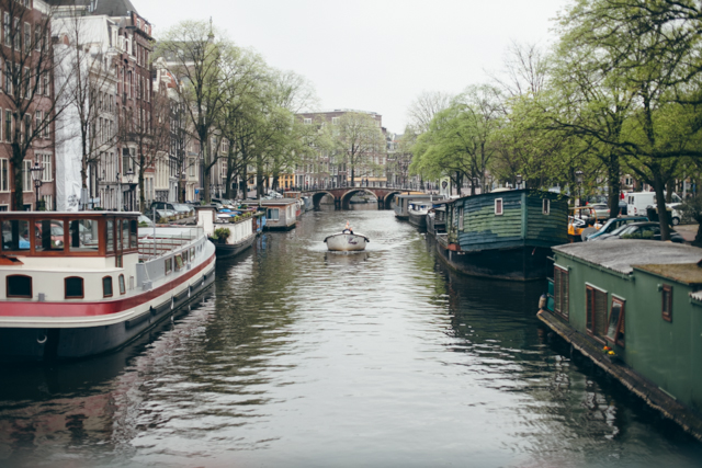 Amsterdam boats - The cat, you and us