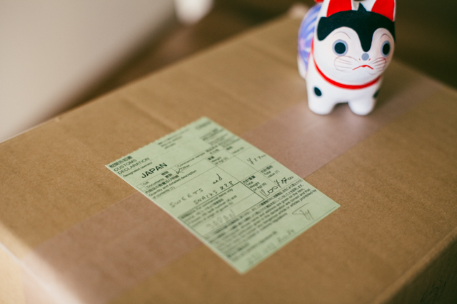 Package from Japan - The cat, you and us