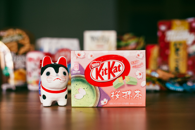 Sakura & matcha Kit Kat - The cat, you and us