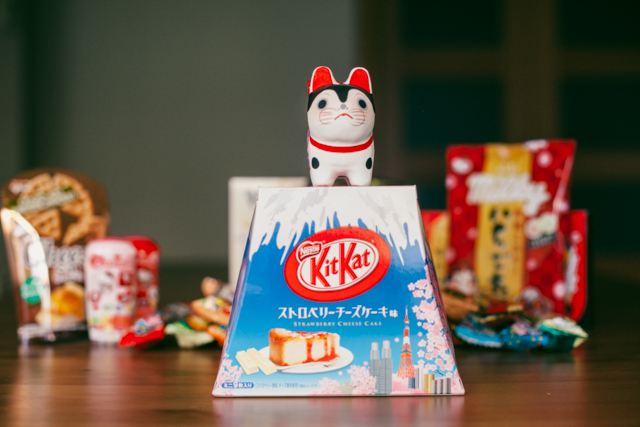 Strawberry cheesecake Kit Kat - The cat, you and us