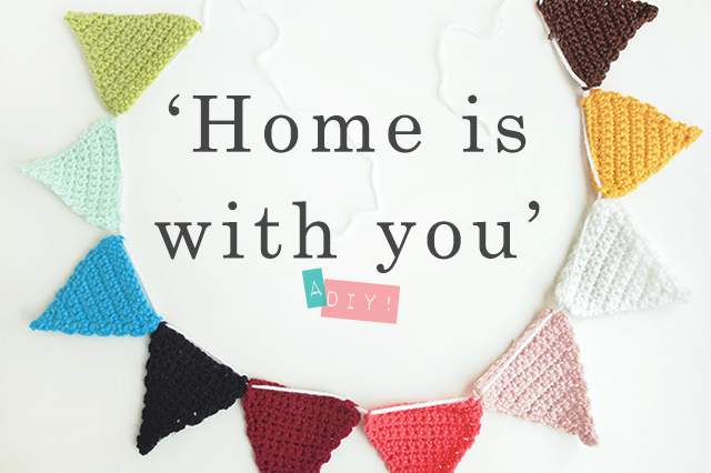 DIY home is with your crochetgarland finished B2 by Ice Pandora - The cat, you and us
