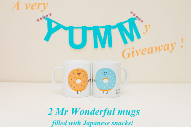 Giveaway donut mugs - The cat, you and us