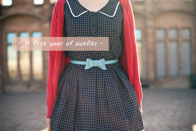 A first year of outfits -The cat, you and us