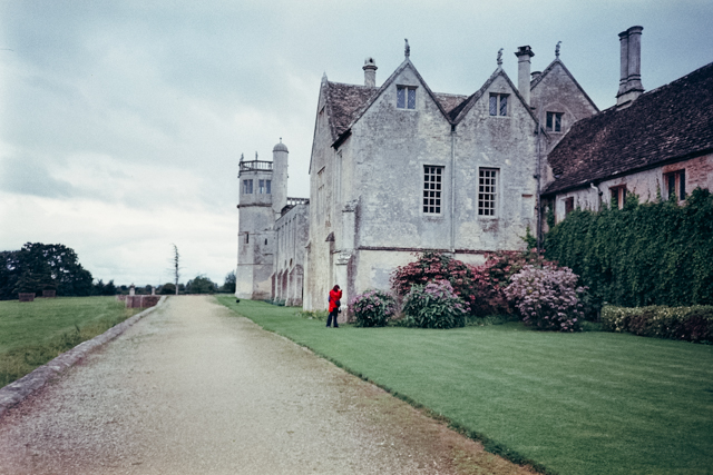 Lacock Abbey - The cat, you and us
