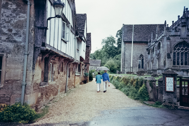 Lacock - The cat, you and us