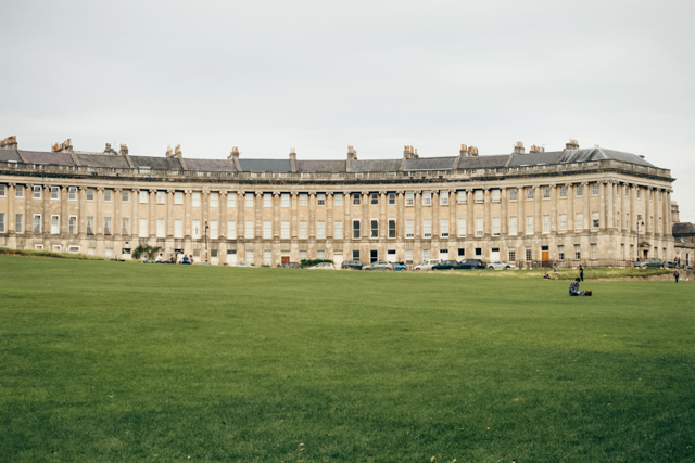 Royal Crescent - The cat, you and us