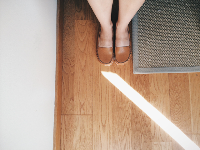 New camper shoes and a light - The cat, you and us