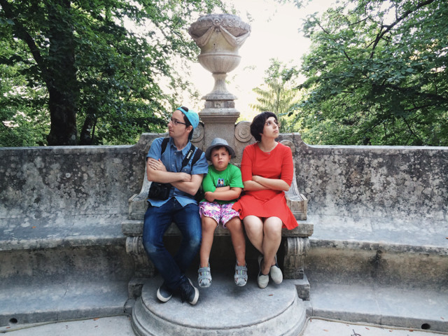 The Jones at Quinta da Regaleira - The cat, you and us