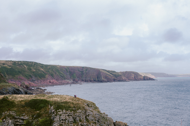 Pembrokeshire coast Stackpole - The cat, you and us