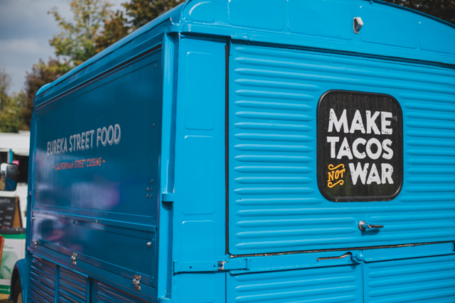 Make tacos not war - The cat, you and us