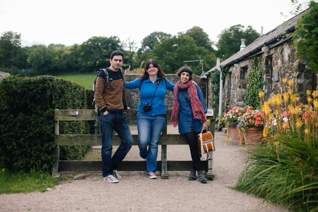 Aberglasney garden - The cat, you and us