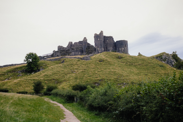 Carreg Cennen - The cat, you and us
